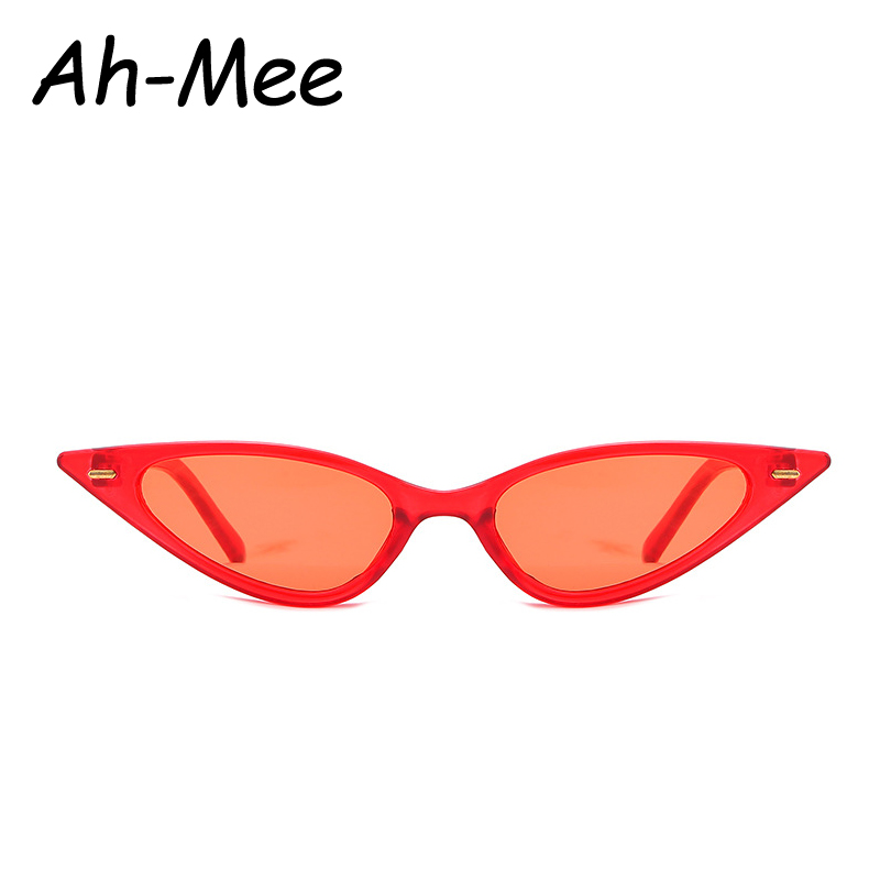 Vintage Sexy Cat Eye Sunglasses Women Brand Small Frame Red Black Sun Glasses Female Top Selling Cateye Eyeglasses UV400