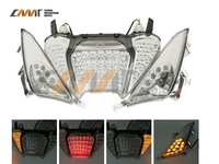 LED Rear Brake Tail Light Turn Signals Integrated case for Yamaha TMAX 500 2008 2011