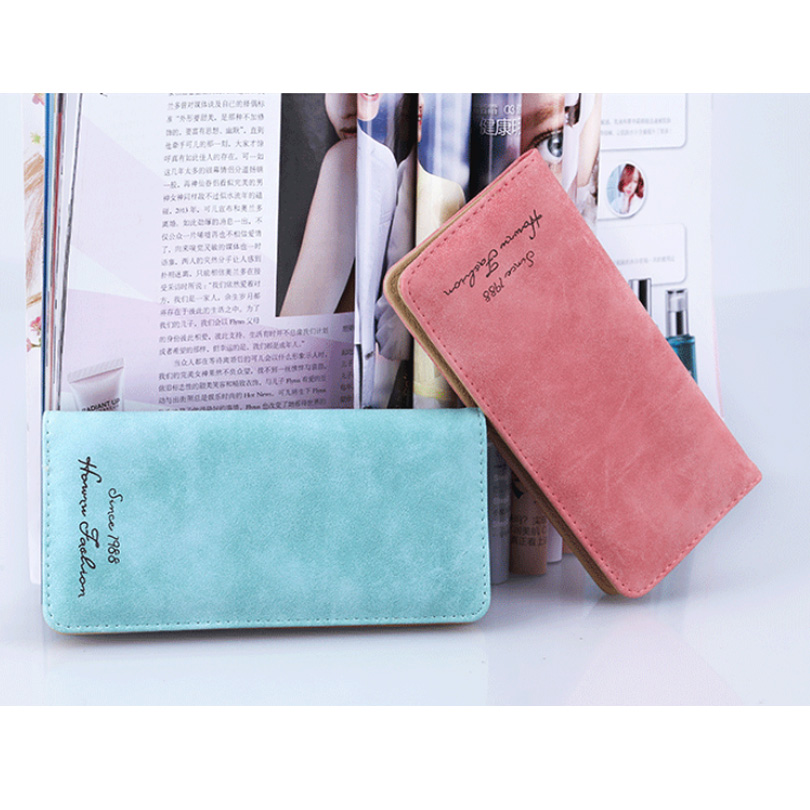 Women Wallets PU Long Women Wallet Fashion Lady Wallet Slim Purse Coin Holder  Purses Female Credit Card and ID Holder Money Bag bvlriga long ladies leather wallet women wallets and purses female coin purse clutches women card holder walet money bag blue