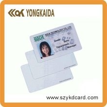 Yongkaida 2000pcs 125khz T5577 chip RFID Identification card Plastic PVC card printable business card One hole