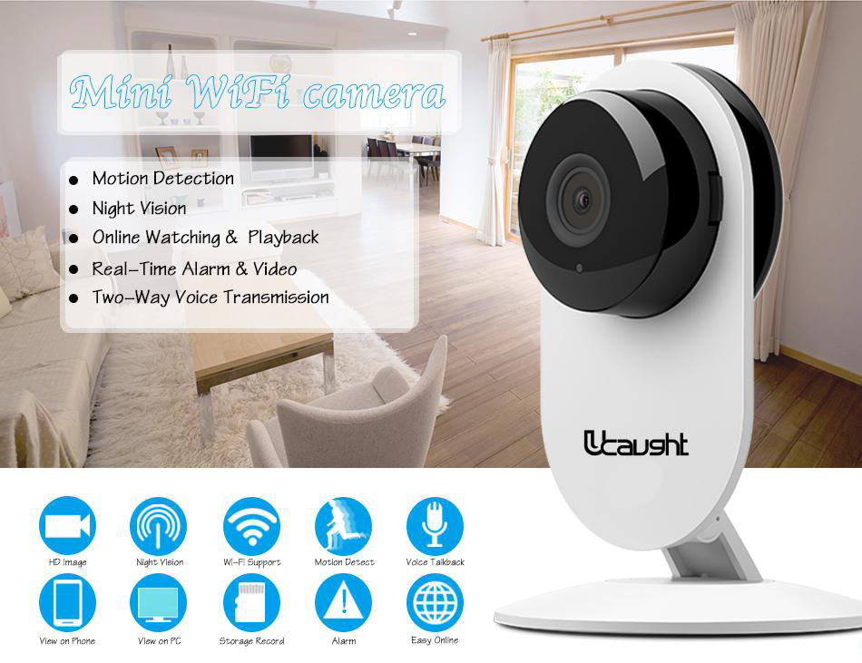 Mini IP camera Mi Style Wifi IPC Cam Wireless 720P HD Smart Camera Baby Monitor CCTV Security Camera Mobile Remote Camera