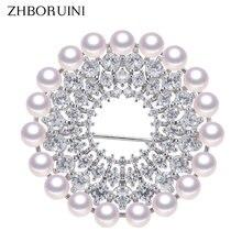 Zhboruini новый дизайн Изящные Ювелирные изделия из искусственного