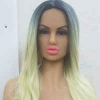 #134 sex doll head sexy shop 135cm 170cm body, oral sex doll heads silicone product vagina