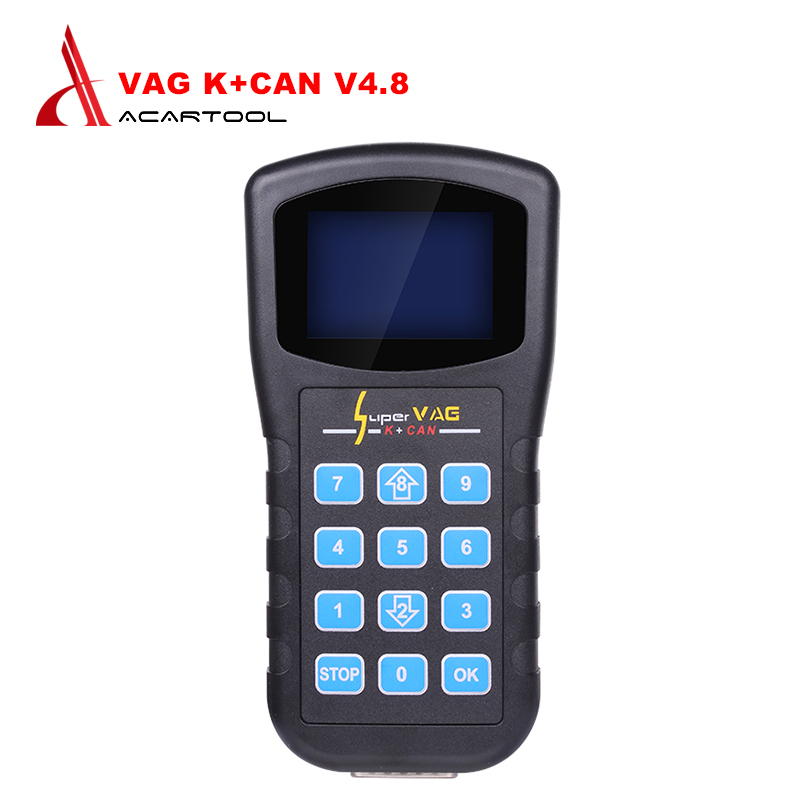 цена на Super for VAG K+CAN V4.8 Odometer Correction Tool Airbag Reset tool Key programmer For AUDI VW Skoda for vag k can