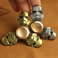 Star Wars Darth Vader Fidget Spinner Finger Kirsite Metal EDC Hand Spinner For Autism ADHD Relief Focus Anxiety Stress Wheel Toy