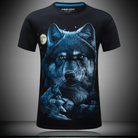New Arrival Fashion Animal Skull 3D T Shirt S M 6XL Summer Men T Shirts