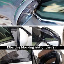 2 pcs Sobrancelha Capa de Chuva Espelho Retrovisor Do Carro-Neve à prova de Proteção Universal