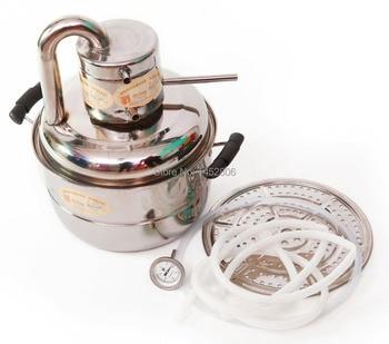 Kit Home Still | Nuova Casa Diy 2 Gal 10l In Acciaio Inox Distillatore Alcol Elcohol Kit Vinificazione Moonshine Still Birra Pompa Evaporatore