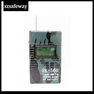 Image 5 - SZSAFEWAY RK560 50MHz 2.4GHz B199a DCS CTCSS רדיו דלפק