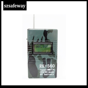 Image 5 - SZSAFEWAY RK560 50MHz 2.4GHz 휴대용 핸드 헬드 주파수 카운터 DCS CTCSS 무선 주파수 측정기 카운터