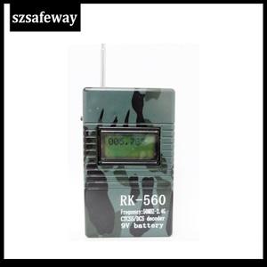 Image 5 - Szsafeway RK560 50Mhz 2.4Ghz Draagbare Handheld Frequentie Counter Dcs Ctcss Radio Frequentie Meter Teller