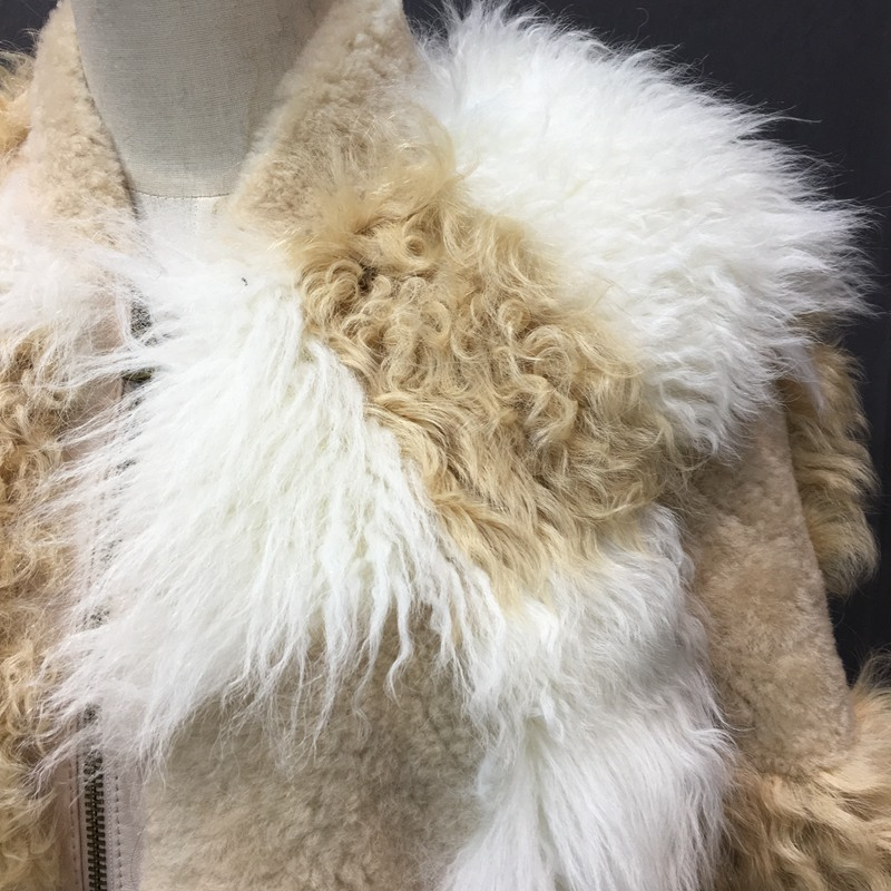 natural sheep fur coat real lamb fur (10)