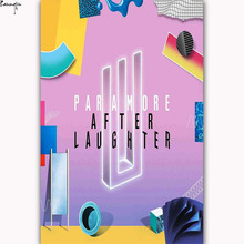 ZP627 New Paramore After Laughter Rap Music Art Poster Silk Light Canvas Painting Print For Home Decor Wall Picture(China)