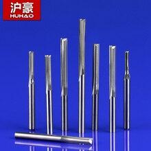 1 шт. 3,175 мм SHK две флейты прямые резные инструменты Двойные Флейты ЧПУ фрезы прямые гравировальные фрезы