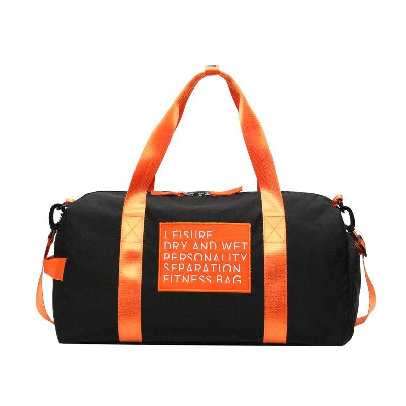 <+>  женские сумки дорожная сумка фитнес портативная независимая обувь сухая-влажная сепарация йога сумка ✔