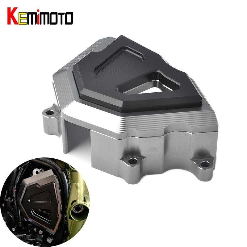 KEMiMOTO для Z900 Кавасаки З 900 2017 передней звездочки цепь гвардии Крышка защитная Крышка двигателя ползунок мотоцикл для Kawasaki Z900