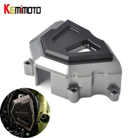 KEMiMOTO For Kawasaki Z900 Z 900 2017 Front Sprocket Guard Chain Cover Guard Engine Cover Slider