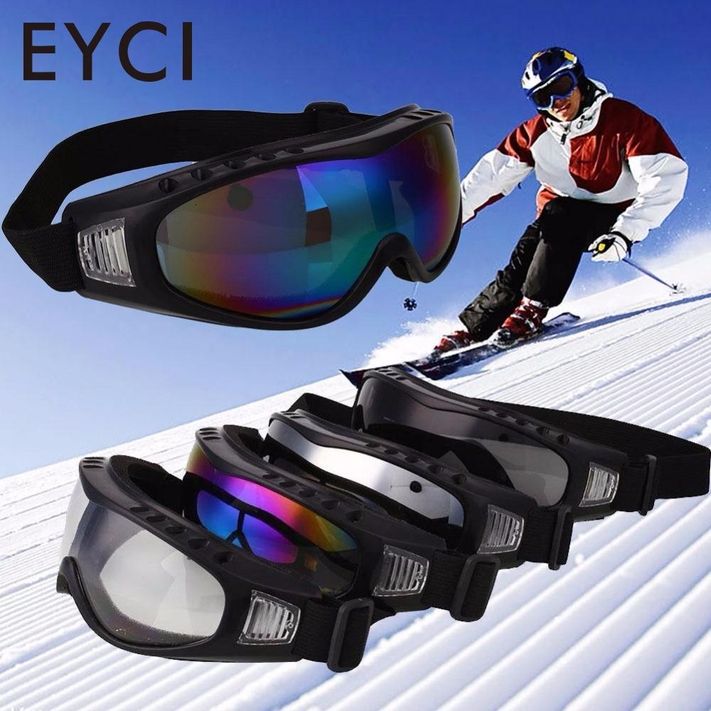 EYCI Outdoor Motorcycle Cycling Wind Airsoft Goggles Protection Bike Sking Road Racing Anti Sand Sports Ski Glasses Eyewear