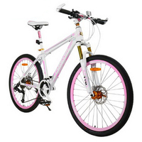 171005 Mountain Bike 26 Inch 27 Speed Aluminum Alloy Male And Female Variable Speed Student Cycling