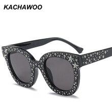 01821f2f4d Kachawoo venta al por mayor 6 unids estrella de diamantes de imitación gafas  de sol hombres de accesorios de moda de la marca ga.
