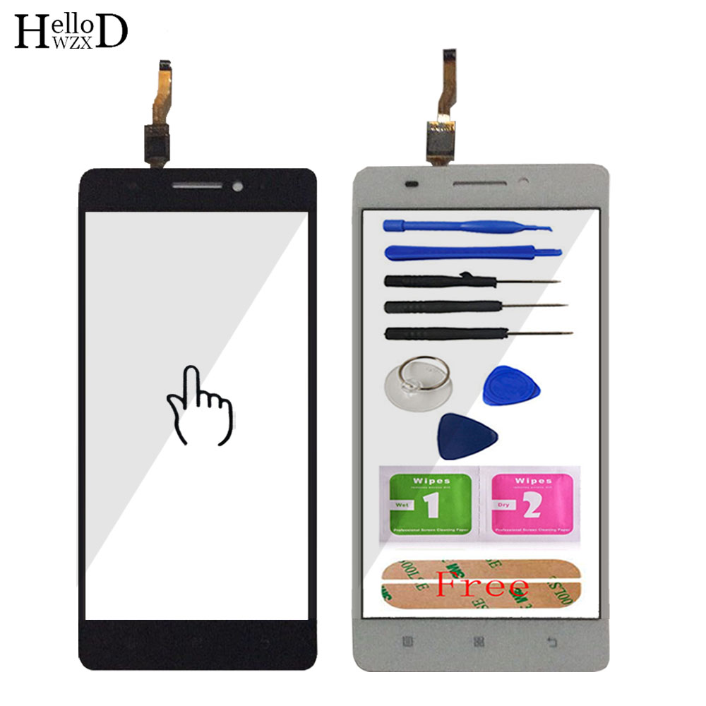 TouchScreen Touch Screen For Lenovo A7000 K3 Note K50-T5 Touch Screen Digitizer Panel Front Outer Glass Lens Sensor Adhesive