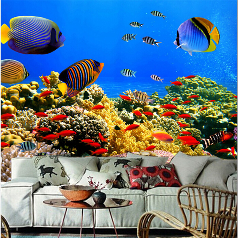 The custom 3D murals, 3D underwater world Corals Fish Animals wallpapers ,cafe wall living room sofa TV wall bedroom wall paper the custom 3d murals the new york times center building street black and white living room sofa tv wall bedroom wall paper
