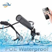 1080P POE Мини водонепроницаемая сеть наблюдения поддержка Onvif P2P веб-мини ip-камера Мини Пуля подводная частная полицейская шахта