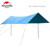 Naturehike Sun Shelter Thick Oxford Cloth Camping Outdoor Rainproof Sunshade Awning for Tents Car Cover Fishing Cover NH15T001 M
