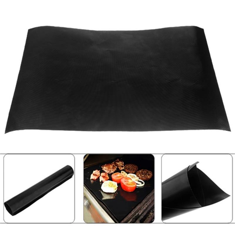 1 pz Reuseable Non-stick Zerbino Padella Fodera Copriletto di Cottura Wok Copriletto Cucina Pad Barbecue di Cottura Zerbino s 30x40 cm Strumento di Cottura Barbecue