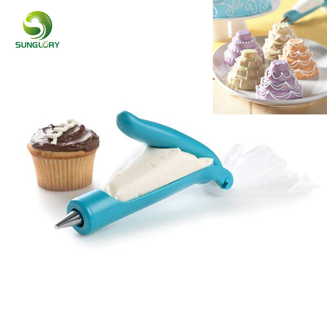 Deco Icing Pen With Pastry Bag And Coupler Tip 4