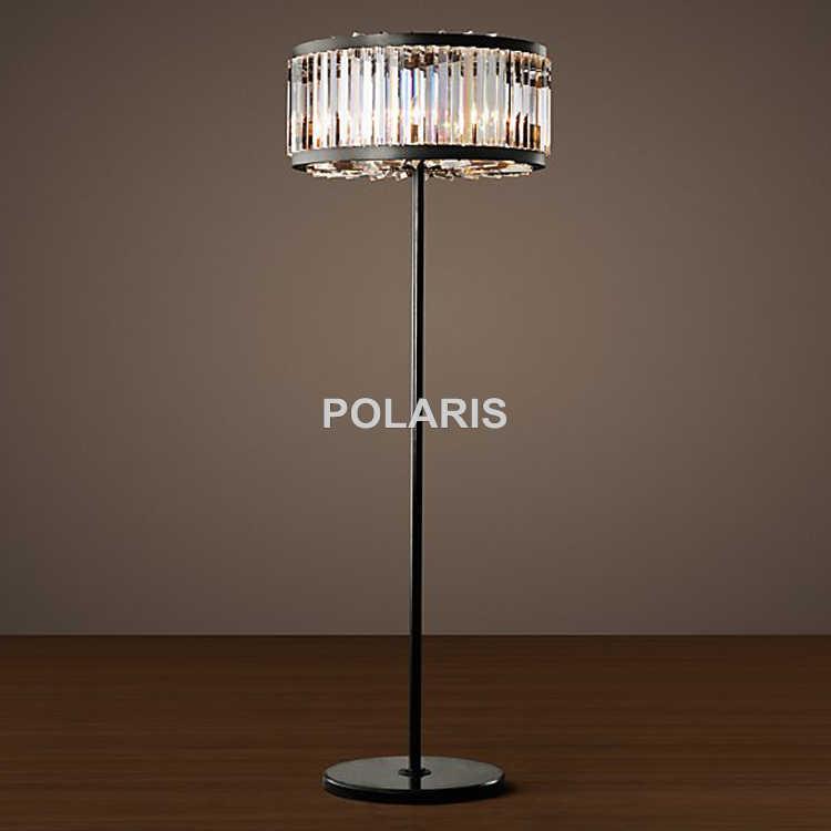 Betere Factory Outlet Modern Vintage Round Crystal Floor Lamp Light Home GI-89
