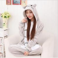 New 2017 Women Men Adult Cute Warm Fleece Animal Onesies Totoro Pajamas Pyjama Pijamas Couples Onesie Pajamas Totoro Onesie