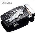 Men 's automatic belt buckle NO Boby crocodile logo High quality alloy material Adaptation width 3.5CM Designers fashion brand