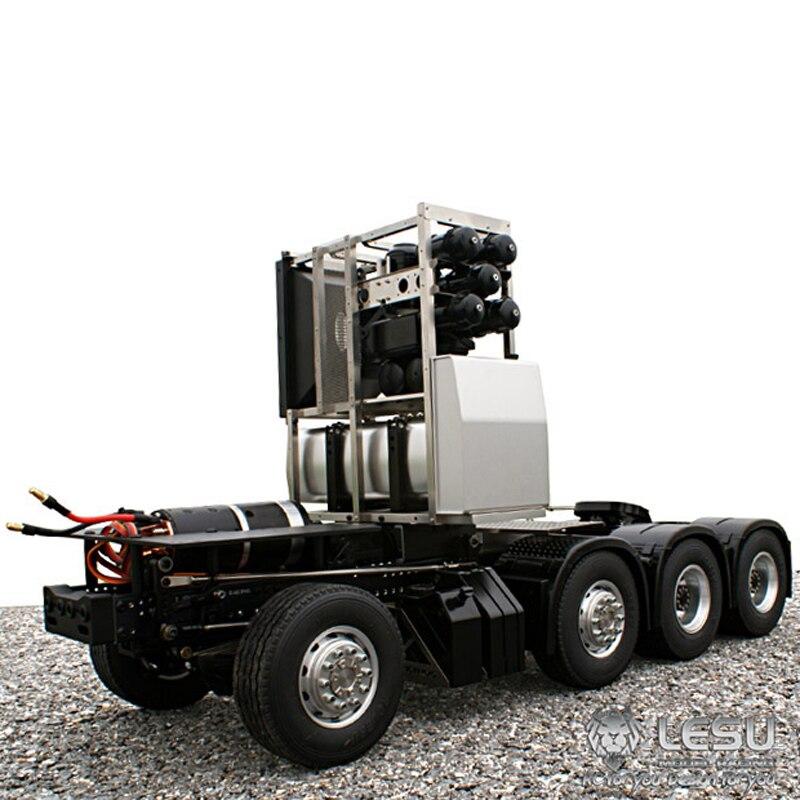 1/14 camion BENZ1851.3363 entraînement complet 8X8 châssis de tracteur robuste à couple élevé modèle électrique LS-20130010 RCLESU Tamiya tracteur