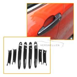 Wysokiej jakości suche włókna węglowego doskonały element wyposażenia Panel drzwi zewnątrz drzwi osłona klamki na 1 2 3 4 serii F20/F30 F80 M2 M3 M4