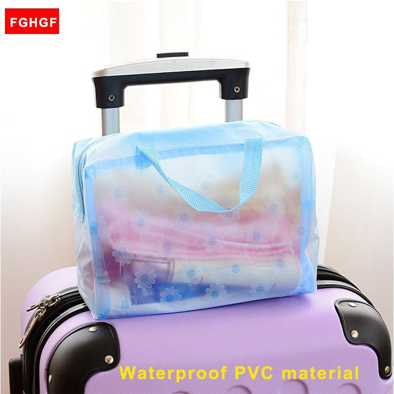 New Travel Waterproof Sport Bag Organizer Women Cosmetic Makeup Storage Bag Wash Shower Bath Bag GYM Pouch Free Shipping