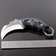 Fixed Blade Karambit Hunting Knife Micatta Handle Outdoor Camping Tactical Survival Knife Knives Faca Cuchillos