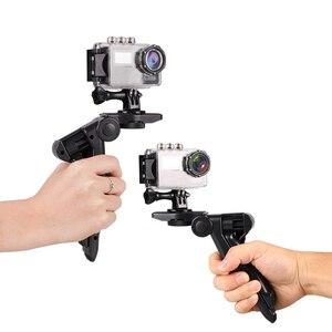 Image 5 - Kaliou Go pro Accessories Mini Tripod Monopod Selfie Stick Mibile Phone Tripod for Go pro 7 6 5 4 3 Sj4000 Sj8 pro Smartphone