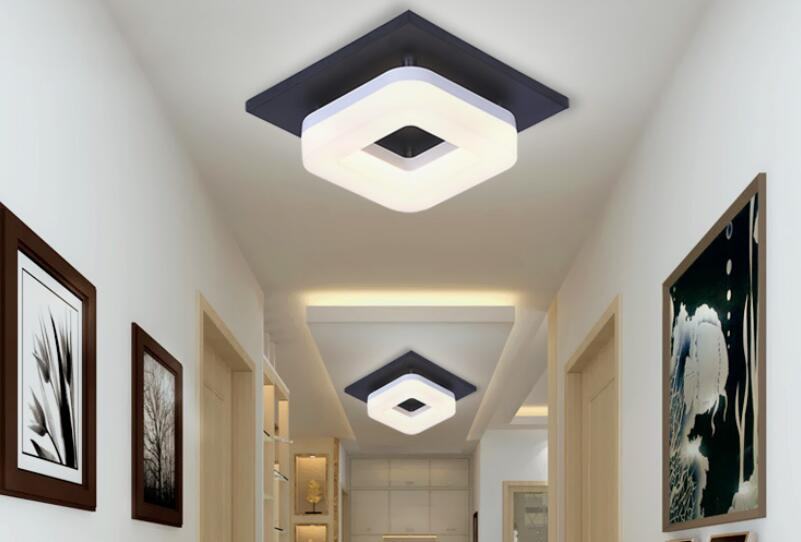 Square corridor Ceiling Lights corridor light entrance lights modern led ceiling lamp balcony hall lighting 20cm ZL399 a1 korean star modern ceiling light minimalist dining entrance lighting corridor lamp lights balcony ceiling lamps led fg981