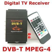 HD de Coches Auto DVB-T MPEG4 Un Sintonizador HD Receptor de TV Digital Móvil Caja Adecuada para Europa de Coches Reproductor de DVD GPS