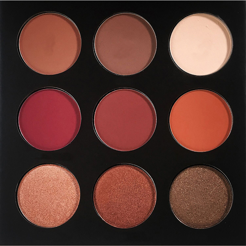 9 Colors EyeShadow Palette Shimmer Matt Eye Shadow Powder Palette Matt Eyeshadow Cosmetic Makeup maquiagem paleta de sombra