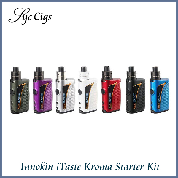 цена на Original Innokin iTaste Kroma Starter Kit with 2ml Tank Atomizer and 2000mah Battery Mod Innokin iTaste Kroma Vape System Kit