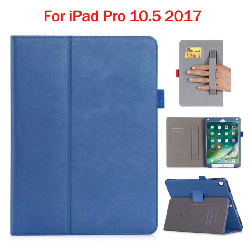 For New iPad Pro 2017 10.5 inch Tablet Wallet Case Cover Fundas PU Leather Slim Protective Stand Skin For New iPad Pro 10.5 2017 coque fundas for apple ipad air ii 2 pu leather stand luxury new cover case for ipad 6 a1566 a1567 9 7 inch cartton wallet shell