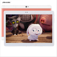 10.1 Inch Tablet PCs Tab Pad 1920×1200 IPS 4GB RAM 32GB ROM OCTA care tablet Dual SIM Card 3G lte call 10.1″ Phablet PC