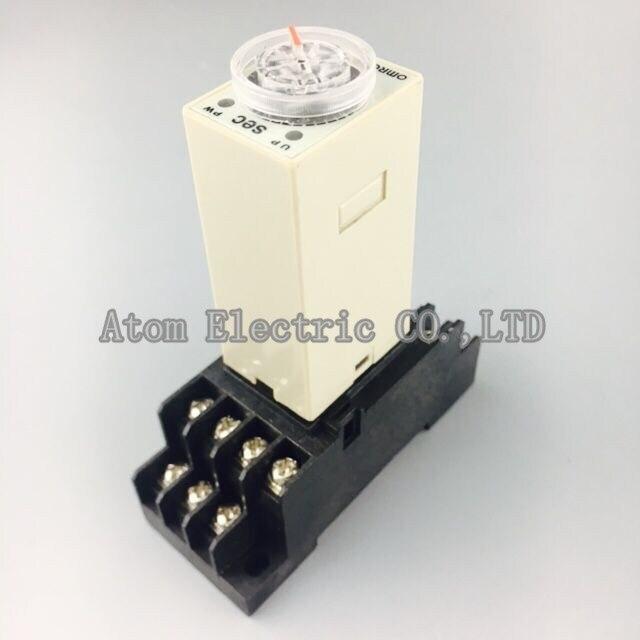 1 компл. H3Y-4 0-5Sec 24 В реле времени задержки мощности контроллер ST6P-4