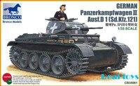 Bronco model CB35061 1/35 Panzerkampfwagen II Ausf D 1(Sd Kfz 121) plastic model kit plastic model kit