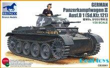 Bronco model CB35061 1 35 Panzerkampfwagen II Ausf D 1 Sd Kfz 121 plastic model kit