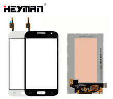 LCD with Touchscreen for Samsung G360H/F/G/G3608 SM-G360H Galaxy Core Prime Duos LCD display screen Digitizer Glass Panel Front(China)