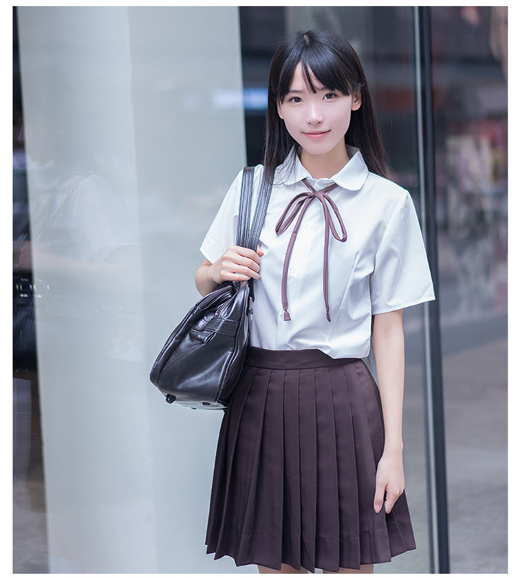 Japan Girls Sailor Suit Clothing sets Becautiful Hell Girls Student School JK Uniforms Clothes Short Shirt+Skirt+Tie+Stockings