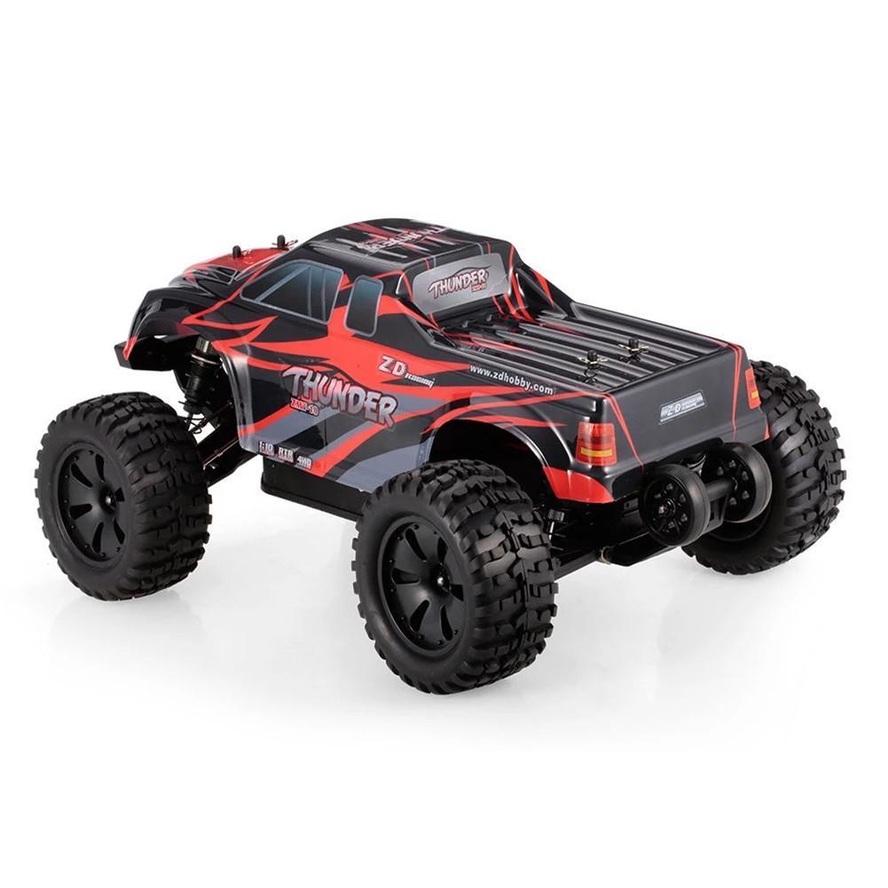 RCtown ZD Corsa 9106 S 1/10 Thunder 2.4G 4WD Brushless 70Km/H Auto Da Corsa del RC Monster Truck RTR Giocattoli-in Auto radiocomandate da Giocattoli e hobby su  Gruppo 2